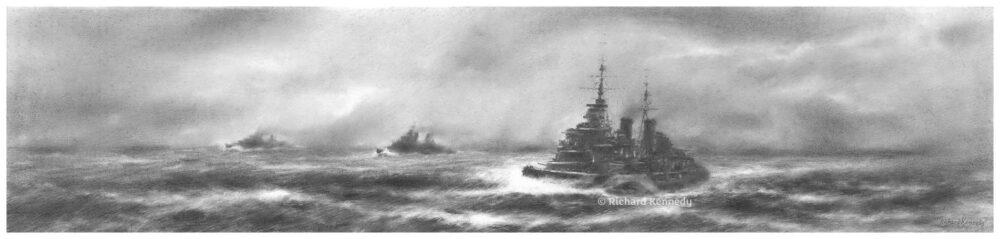 HMS Belfast: Line Abreast
