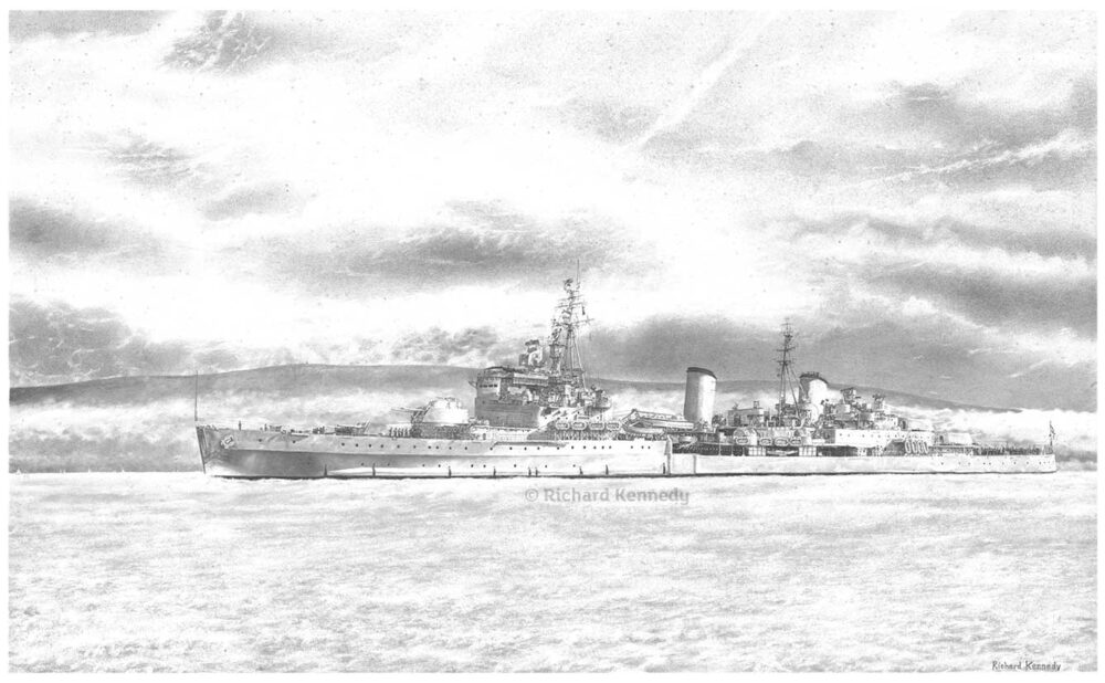 HMS Belfast: Morning Glory