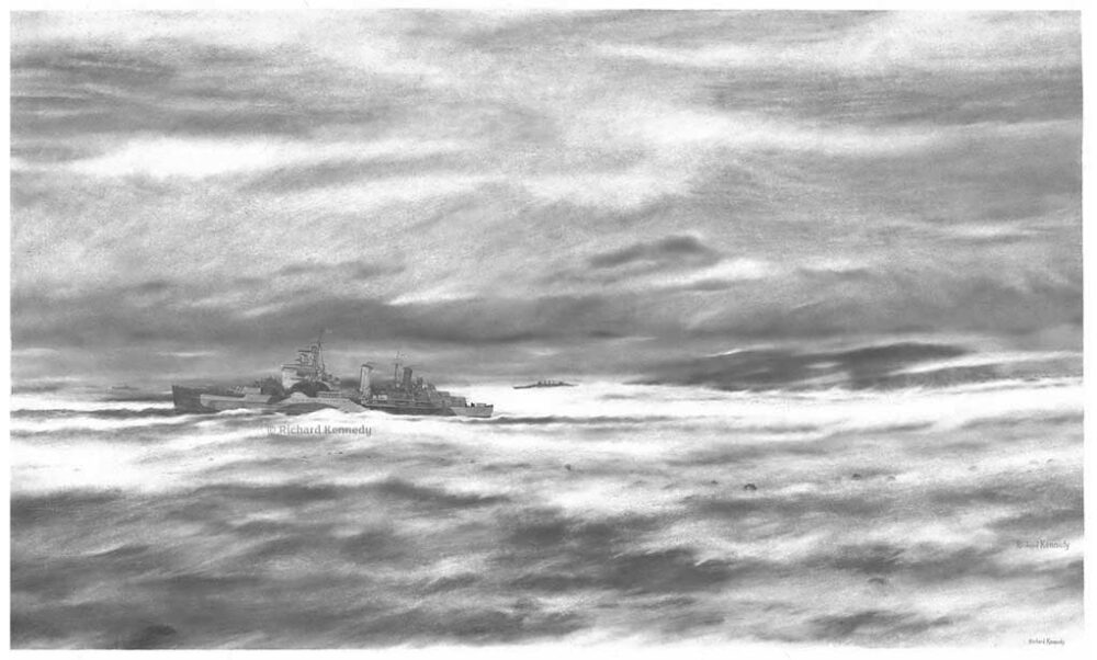 HMS Belfast: Relative sanctuary in Loch Ewe
