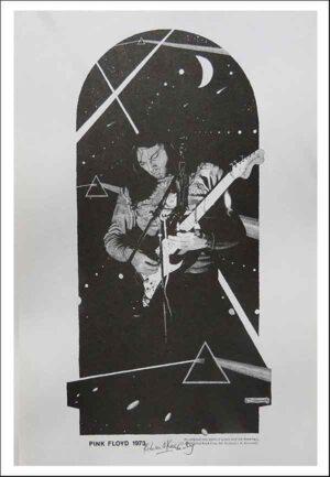 Pink Floyd rock act David Gilmore