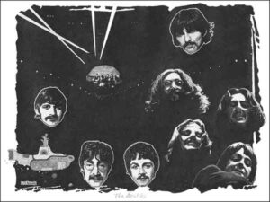 Beatles - rock act by Richard Kennedy