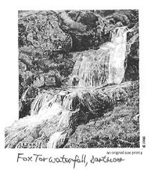 Fox Tor waterfall, Dartmoor