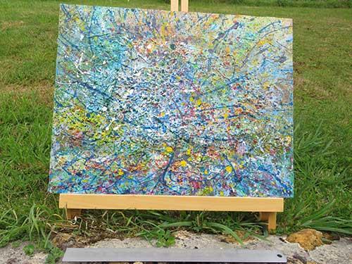 Marshblue by Richard Kennedy
