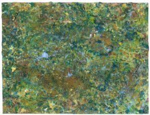 Marshyellow - a Richard Kennedy Abstract Drawing