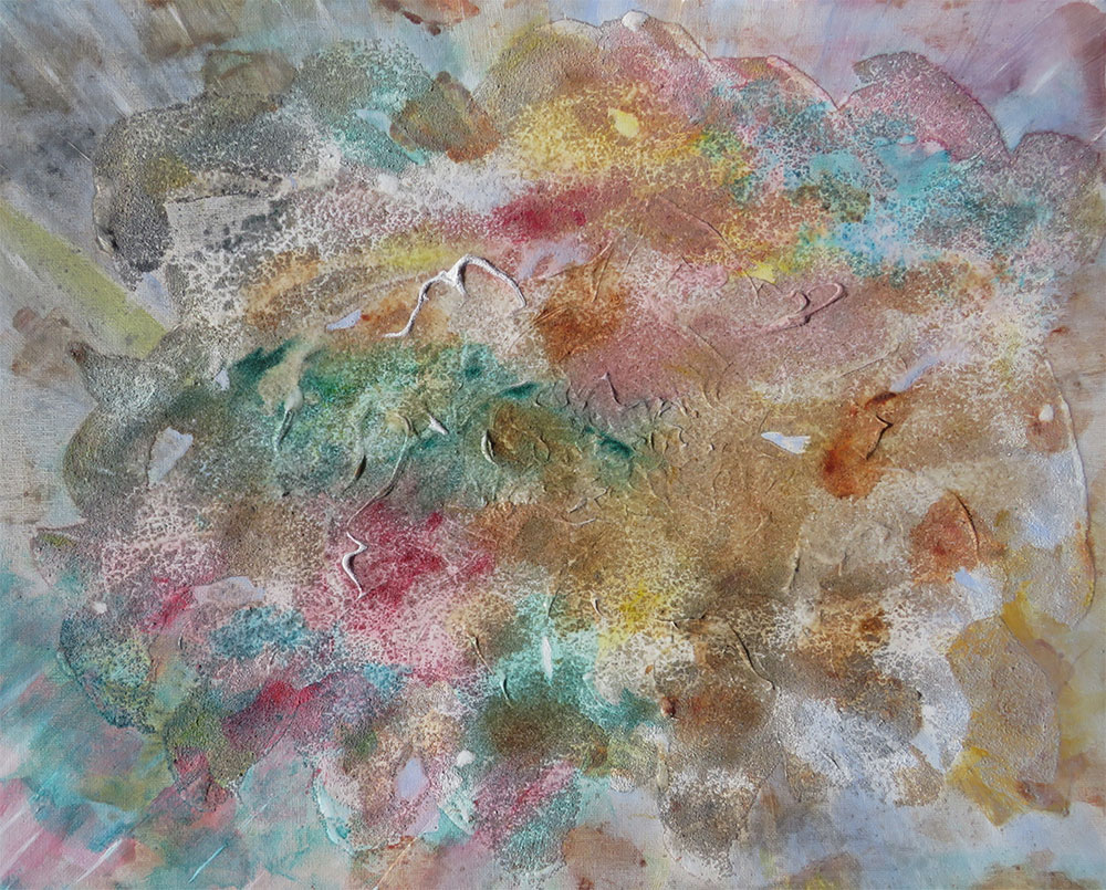 Flight: An Abstract painting by Richard Kennedy