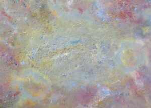 Surreal heights - an original abstract painting by Richard Kennedy