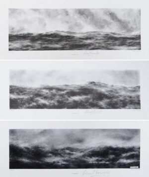 Pure Sea - set of three prints
