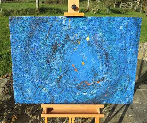 Through Blue Metamorphosis by Richard Kennedy