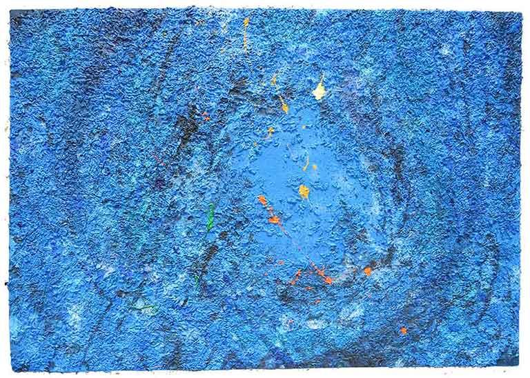 Through Blue Metamorphosis