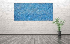 Jacksonville - large abstract painting by Richard Kennedy